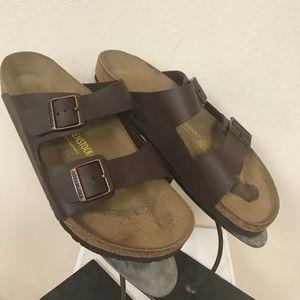Men's Birkenstock Sandals Brown size 13